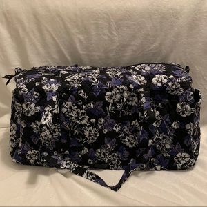 Large Traveler Duffel- Frosted Floral